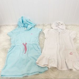 Carters OP Hooded Swim Cover Ups Size 3T